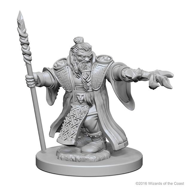 D&D Nolzur's Marvelous: Unpainted Minis - Dwarf Male Wizard