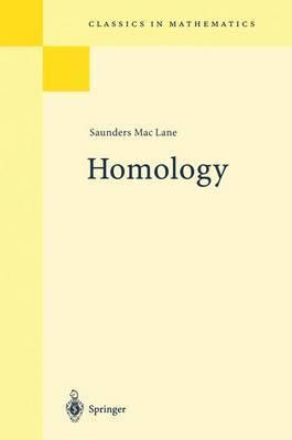 Homology by Saunders MacLane