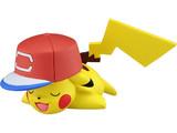 Pokemon: Moncolle EX Ash's Pikachu (Alola Cap Ver.) - PVC Figure