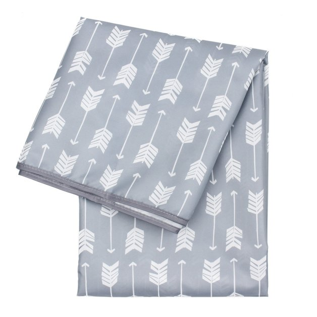 Bumkins: Waterproof Splat Mat - Grey Arrow