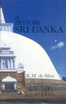 A History of Sri Lanka by K.M. De Silva image