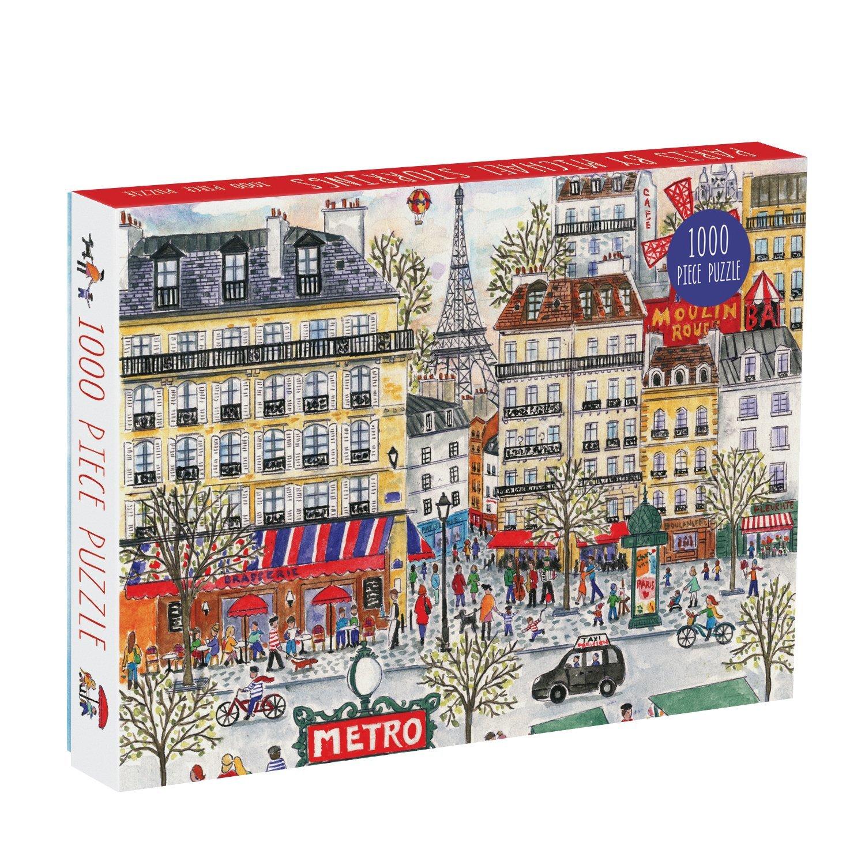 Galison: 1000 Pcs Puzzle - Michael Storrings Paris image
