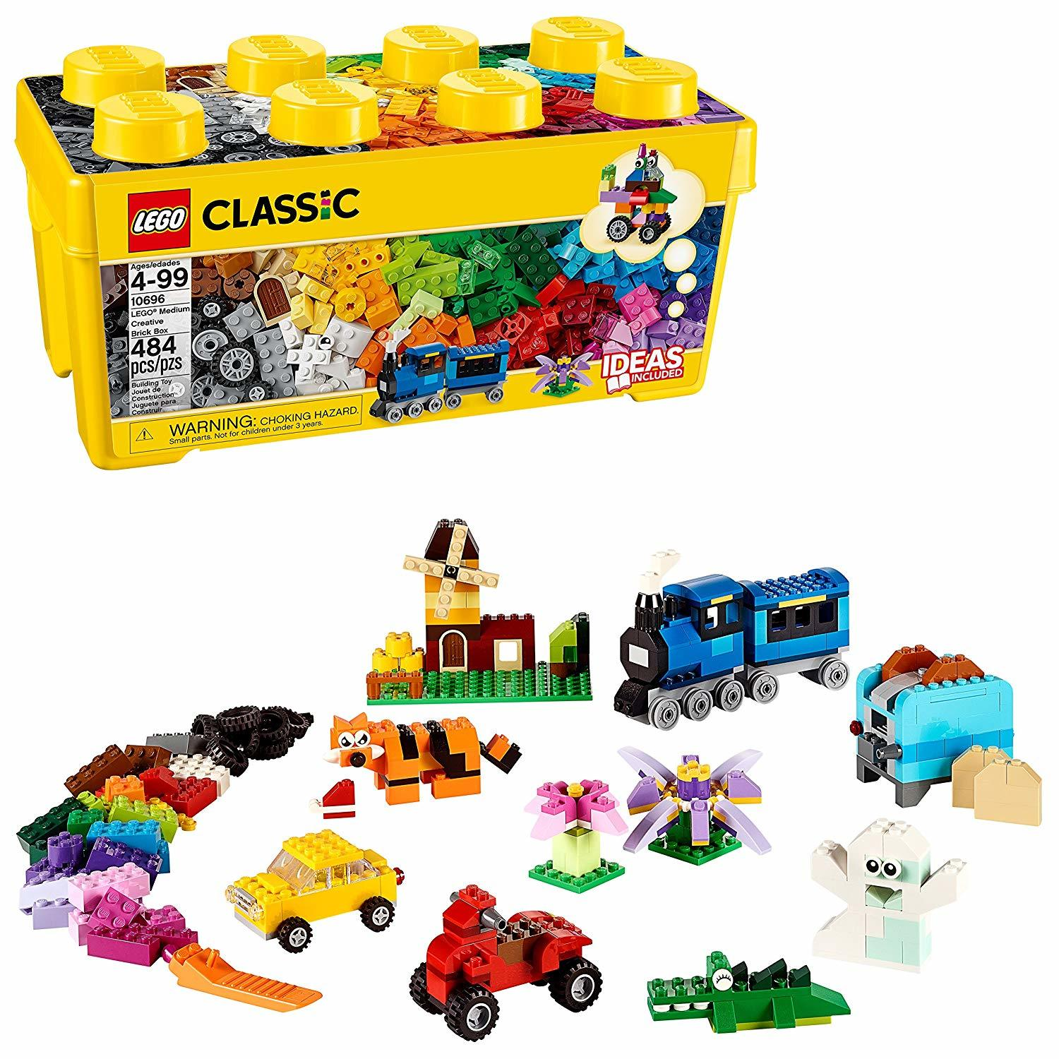 LEGO Classic: Medium Creative Brick Box (10696) image