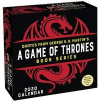 Game of Thrones Book Series 2020 Day-to-Day Calendar image