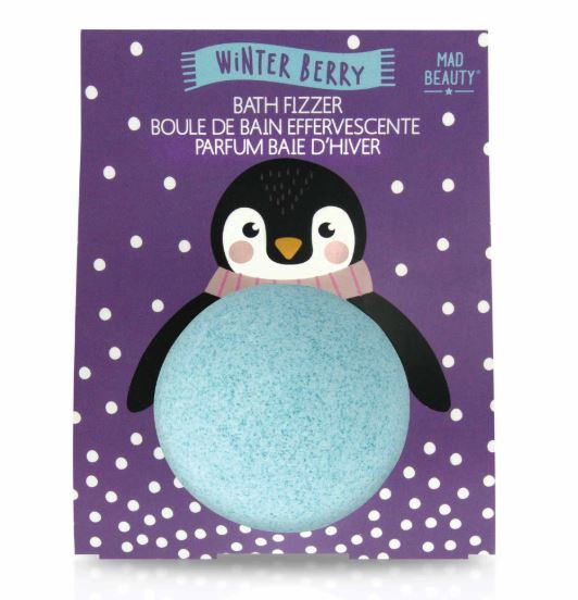 Mad Beauty: I Love Christmas Bath Fizzer - Penguin