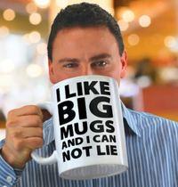 BigMouth I Like Big Mugs GIANT Mug
