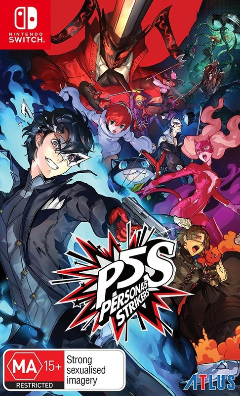 Persona 5 Strikers for Switch