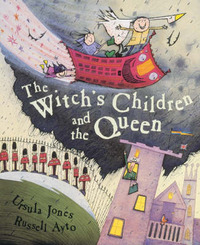 The Witch's Children and the Queen (Smarties Gold Award Winner) by Ursula Jones image