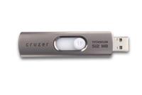 SanDisk Cruzer Titanium USB Flash Drive 512MB image