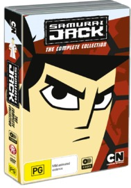Samurai Jack - The Complete Collection on DVD
