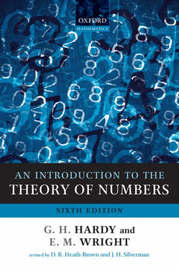 An Introduction to the Theory of Numbers by G.H. Hardy
