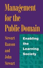 Management for the Public Domain by Stewart Ranson image