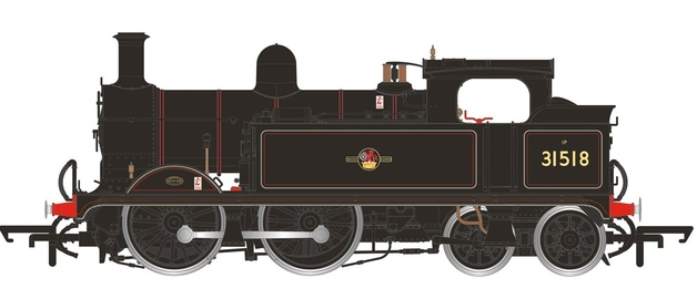 Hornby: Wainwright H Class 0-4-4T Late BR