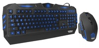 Gorilla Gaming Predator Gaming Combo (Blue) for PC Games