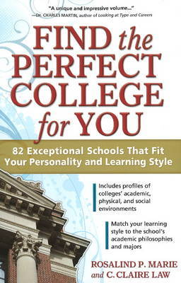 Find the Perfect College for You by Rosalind P Marie image