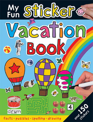 My Fun Sticker Vacation Book by Roger Priddy image