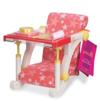 Our Generation: Clip-On Chair Accessory Set - Pink & Stars
