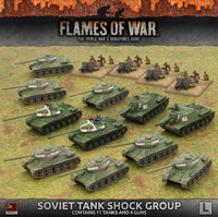 Flames of War: Soviet Tank Shock Group (Late War Army Box)