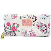 Disney Aristocats Marie White Floral Wallet