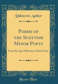 Poems of the Scottish Minor Poets by Unknown Author image