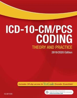 ICD-10-CM/PCS Coding: Theory and Practice, 2019/2020 Edition by Elsevier image