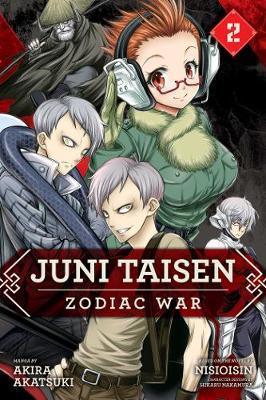 Juni Taisen: Zodiac War (manga), Vol. 2 by Akira Akatsuki image
