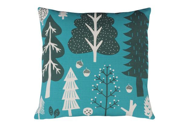 Donna Wilson Cushion - Forest Turquoise