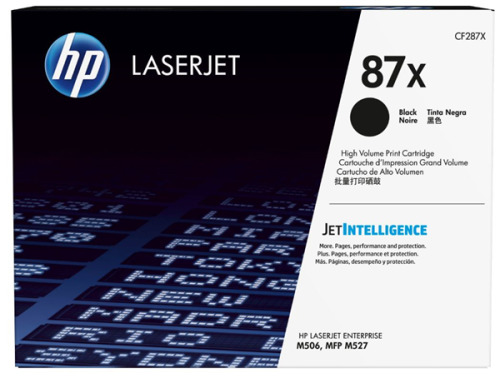 HP 87X High Yield Toner - Black