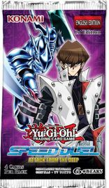 Yu-Gi-Oh! Speed Duel Attack From The Deep Single booster