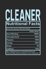 Cleaner Nutritional Facts by Dennex Publishing
