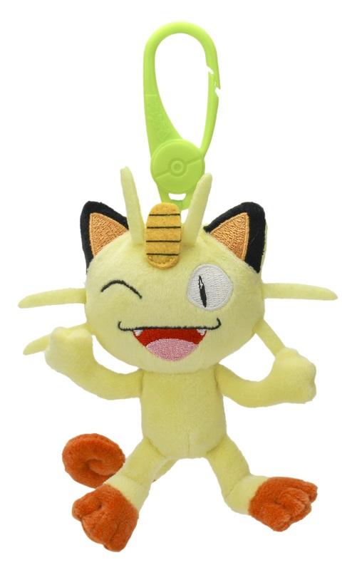 Pokemon: Clip-On Plush - Meowth