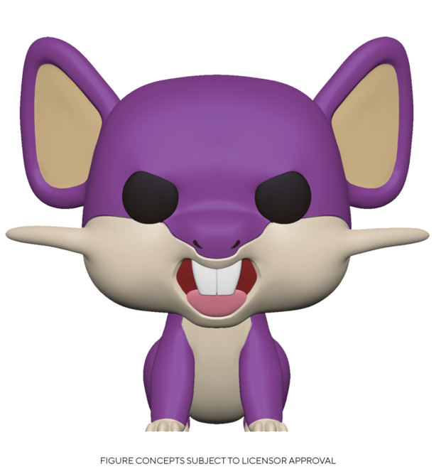 Pokemon: Rattata - Pop! Vinyl Figure