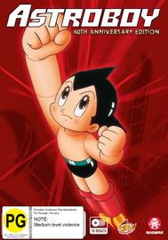 Astro Boy (1980) 40th Anniversary Edition on DVD image