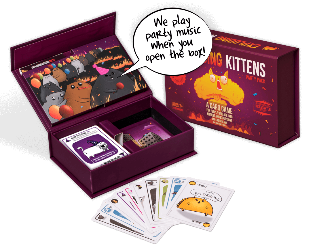 Exploding Kittens - Party Pack image