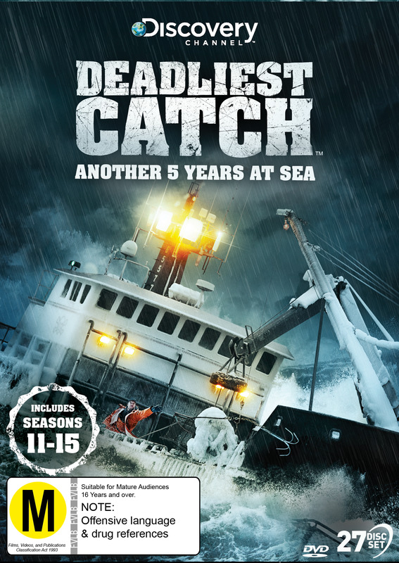 Deadliest Catch: Another 5 Years At Sea - The Complete Seasons 11-15 on DVD