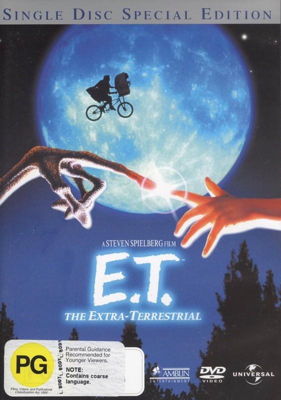 E.T. on DVD