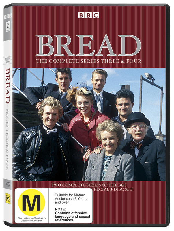 Bread - Complete Series 3 And 4 (3 Disc Set) on DVD