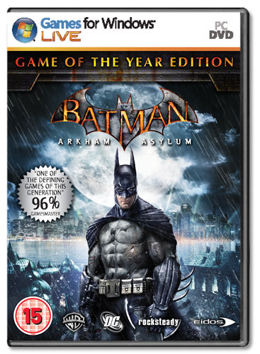 Batman: Arkham Asylum Game of the Year Edition for PC Games