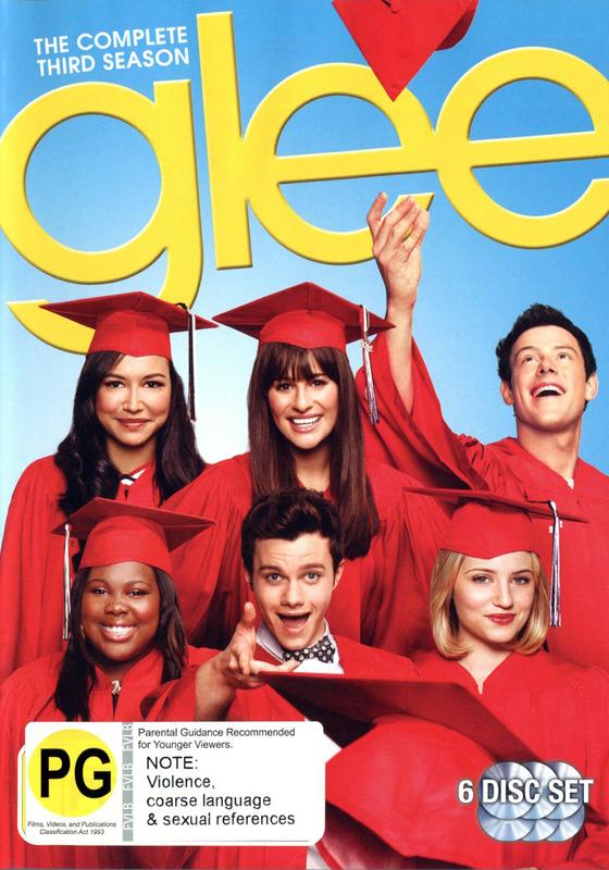 Glee - The Complete Third Season on DVD
