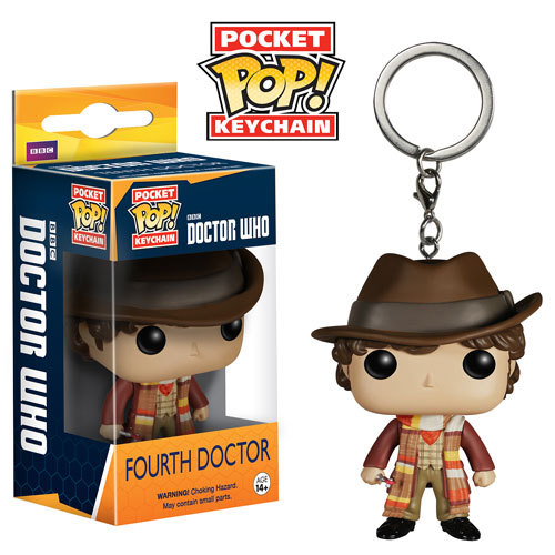 Doctor Who - 4th Doctor Pop! Keychain image
