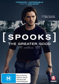 Spooks: The Greater Good on DVD