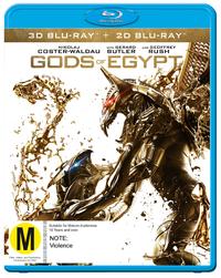 Gods Of Egypt (3D Blu-ray) DVD