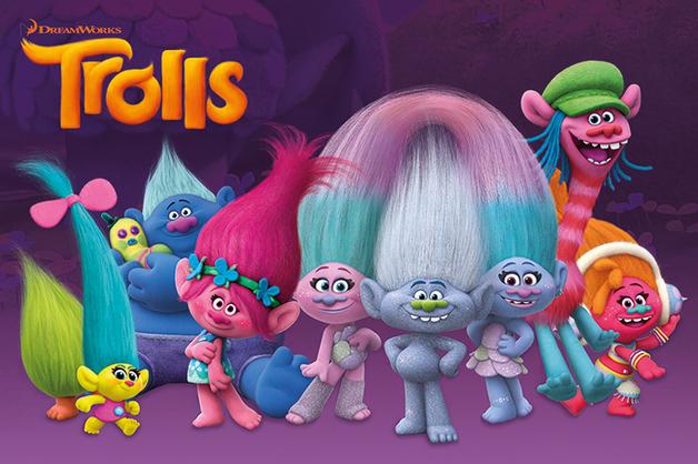 Trolls - Characters Maxi Poster (605)