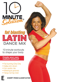 10 Minute Solution - Fat Blasting Latin Dance Mix on DVD
