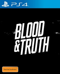 Blood & Truth for PS4