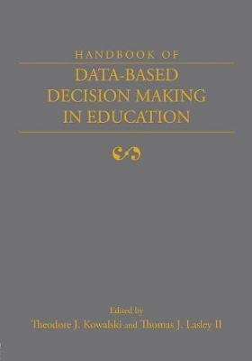 Handbook of Data-Based Decision Making in Education by Theodore Kowalski image