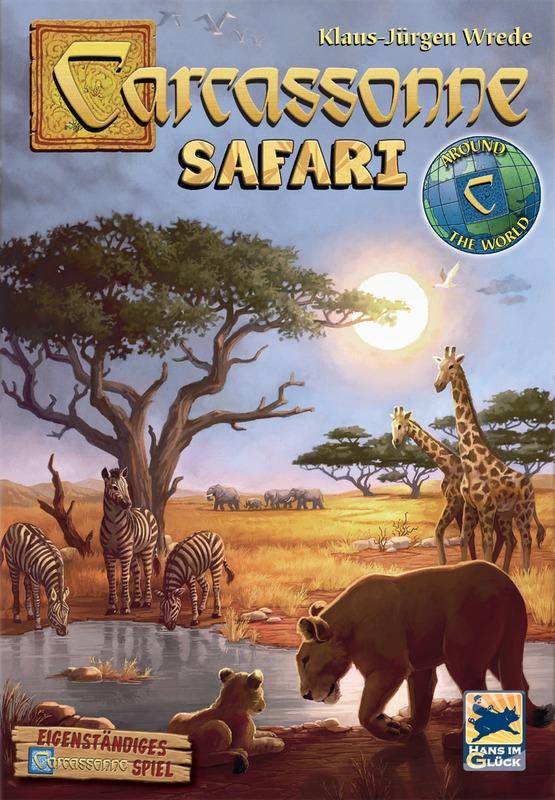 Carcassonne: Safari - Board Game