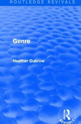 Genre by Heather Dubrow