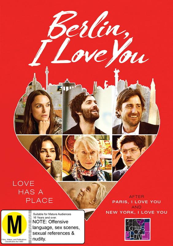 Berlin, I Love You on DVD