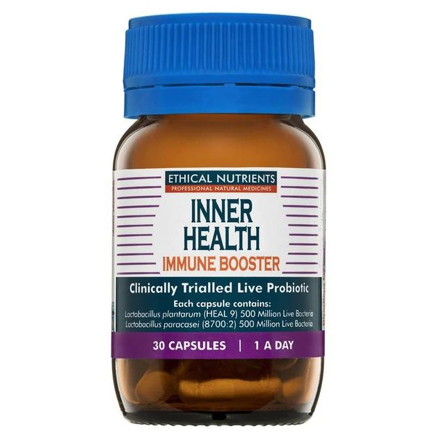 Ethical Nutrients Inner Health Immune Booster For Adults (30 Capsules)